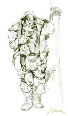 Jason Hong: Time Travel, That Look, Character Design, Creatures, Sketches, Characters, Fantasy, Comics, Drawings