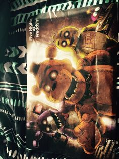 I saw a couple fnaf posters at Shopko today :D