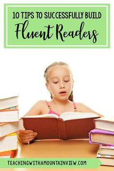 Fluent reading is so important for general reading. As a reading interventionist, I have seen first-hand how fluent students have a better understanding and more trusting readers. Take a look at my top 10 tips to. Reading Fluency Activities, Reading Tutoring, Fluency Practice, Reading Intervention, Teaching Reading, Reading Comprehension, Teaching Ideas, 4th Grade Reading, Student Reading