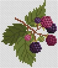 Make this into a quilt? Cross Stitch Fruit, Small Cross Stitch, Cross Stitch Kitchen, Cross Stitch Borders, Cross Stitch Flowers, Cross Stitch Charts, Cross Stitching, Cross Stitch Embroidery, Embroidery Patterns