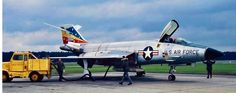 F-101 Voodoo of the USAF 81st TFW, getting readied for a flight.