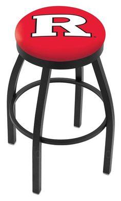 Rutgers University Flat Ring Bar Stool