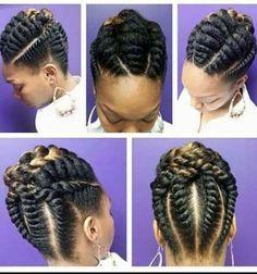 Best Flat Twist Braids Hairstyles To Make For Christmas.Best Flat Twist Braids Hairstyles To Make For Christmas Flat Twist Hairstyles, Flat Twist Updo, Twist Braids, Braided Hairstyles, Black Hairstyles, Quick Braids, Kid Hairstyles, Flat Twist Styles, Box Braids