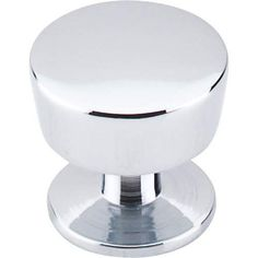 "Essex Knob 1 3/16"" - Polished Chrome"