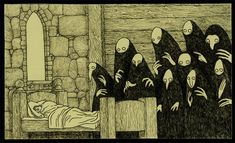 John Kenn (1978 -) é um misterioso artista dinamarquês que desenha monstros assustadores em post-its, utlizando traços simples e muitas hachuras. Os post-its estão sempre por perto e eu gosto de se…