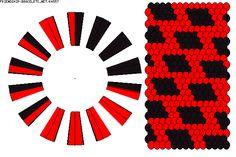 BRACELET - KUMIHIMO DISK - friendship-bracelets.net - PATTERN K4557