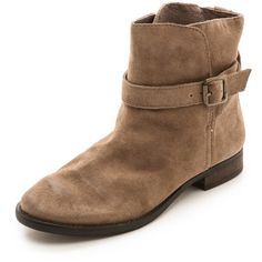 $150.00 Sam Edelman Malone Distressed Suede Booties - Chateau Grey