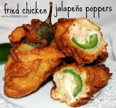 Healthier Chicken Chow Mein - A Family Feast® - New Ideas Fried Jalapeno Poppers, Fried Jalapenos, Jalapeno Popper Chicken, Stuffed Jalapeno Peppers, Fried Chicken Side Dishes, Fried Chicken Wings, Baked Chicken, Recipes Appetizers And Snacks, Appetizer Ideas