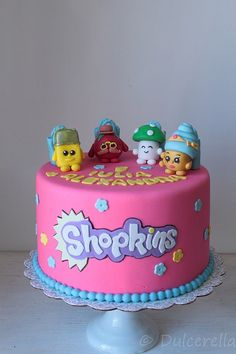 Shopkins Cake for Iulia | by dulcerella