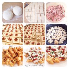 Fat Manti people) For the dough: 1 cup of warm water 2 tablespoons of yogurt Half a half of yea Best Beauty Tips, Beauty Hacks, Baklava Recipe, Apple Cookies, Homemade Beauty Products, Travel Size Products, Yogurt, Waffles, Stuffed Peppers
