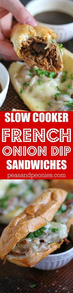 Slow Cooker French D