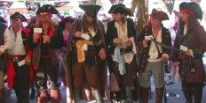 Tybee Island's annual Pirate Fest in October