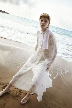 Stephanie Hall by Ilaria Orsini for Tank Magazine Spring Summer 2014