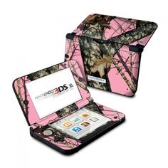 Break-Up Pink Nintendo 3DS XL Skin