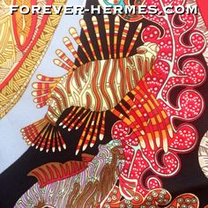 Another design wonder, by French Artist Annie Faivre is this Grail scarf titled Grands Fonds for Hermes Paris now in store http://forever-hermes.com #ForeverHermes featuring colorful #ish #DiscusFish #corals #lionfish      #ocean #fishing #aquarium #HermesCarre #HermesCollector #HermesAddict #Hermes #MensSuit #mensfashion #mensnecktie #womensfashion