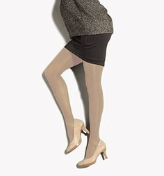 85d573390d71b Preggers Mild Support Maternity Pantyhose: These compression tights provide  mmHg compression to prevent swelling, fatigue and varicose veins.