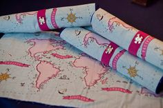 Mermaid Party | Fabric Maps