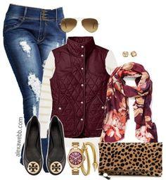 Plus Size Fashion - Plus Size Weekend Casual Outfit - Alexa Webb - alexawebb.com #alexawebb