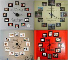Family Potos Clock Amazing #Family #Trusper #Tip
