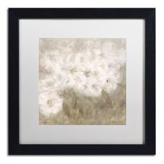 Wild Flowers I by Li Bo Matted Framed Painting Print