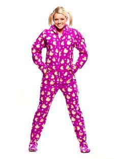 scooby doo adult footie pajamas with hood $ 38.00 | Yep. That's so ...