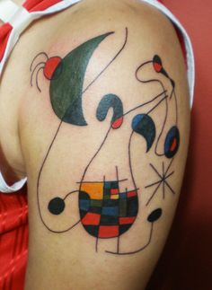 Joan Miro tattoo