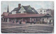 1910-WILKINSBURG-PA-Pennsylvania-Railroad-Station-Divided-Back-Post-Card-2625