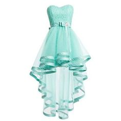 2016 Mint Green Tulle Homeocming Dr..