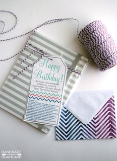 LDS Relief Society Birthday Gift with free Printable gift tag. perfect for all the sisters in your ward to receive on their birthday from the RS presidency.
