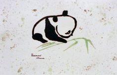 Baby Koala. Akvarell, papír.