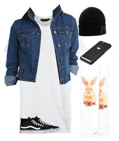 """""""Casual for a day of doing nothing walking the park going to grab a bite to eat by yourself or running to the grocery store for a few items.."""" by tajmia-tauvae on Polyvore featuring Alexander Wang, Charlotte Russe, Vans, Boohoo, Polo Ralph Lauren and Bellroy"""