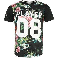 Tee Shirt So Hype Players A Noir - LaBoutiqueOfficielle.com
