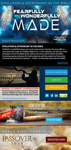 (WATCH) Evolution & Astronomy In The Bible