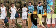 LEILA DINIZ advogada blogueira youtuber: #LookDoDia DUPLO: 1º com camisa xadrez e o 2º com ...