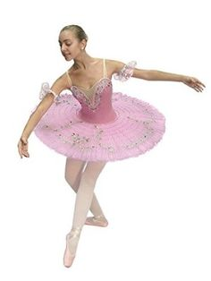 Benefis Woomen's Professional Ballet Tutu F 0001 (2-US) S Adult