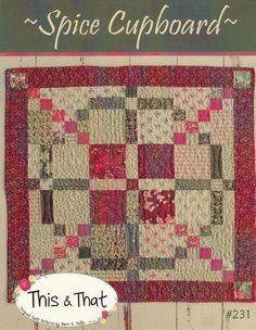 Primitive Folk Art Quilt Pattern Little by PrimitiveQuilting, $4.50