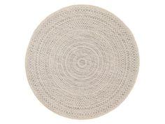 Tapis rond intérieur/extérieur en polypropylène spirale géométrique D.160cm JAKE