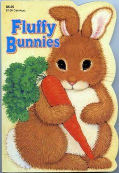 Fluffy Bunnies very good used condition illustrated board book novelty shape Little Golden Books, Little Books, Joyce Johnson, Sleepy Bear, Shape Books, Fluffy Bunny, Five Little, Animal Books, Creative Kids