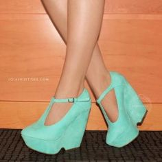Garden Party – Mint by Lola Shoetique $29.99