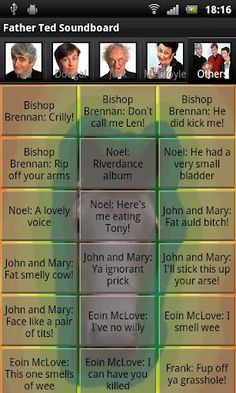 The New Father Ted Soundboard App for Droid!