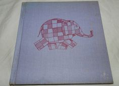 Book copyright 1969 Elmer the Story of a by UncommonArtSupplies