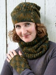 Northern Pines Set crochet pattern by Briar Rose Fibers