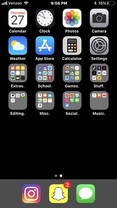 Iphone home screen layout, iphone layout, organize apps, phone organization, organization ideas Iphone Home Screen Layout, Iphone Layout, Phone Organization, Organization Ideas, Phone Quotes, Free Coupons, Dinners For Kids, Phone Covers, Healthy Kids