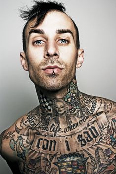 Travis Barker by Michael Muller