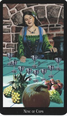 Witches Tarot Deck by Ellen Dugan & Mark Evens.