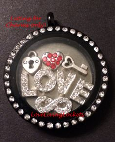 Valentine's Day Key to my Heart Lock & Key by LoveLivingLockets, $21.99
