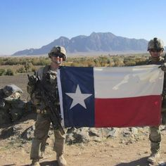 The Lone Star flys over Afghanastan!! GOD BLESS THE AMERICAN SOLDIER!!!!