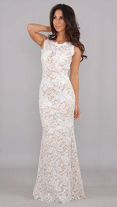 Jovani Lace Long Dress...I really like this..so elegant, sexy and just pretty :)