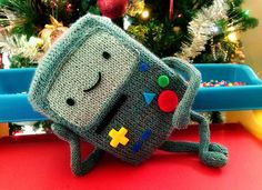 Beemo from Adventure Time by Renelle M. Legos