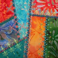 Simply Crazy Quilt 1 Series 1 Embroidery Designs